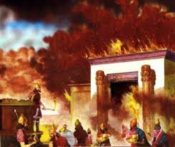 Temple destroyed